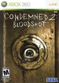 Condemned 2: Bloodshot - Box - Front