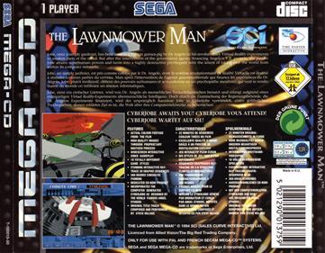 The Lawnmower Man - Box - Back