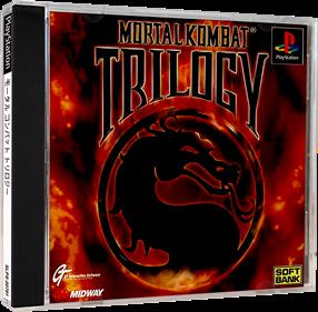 Mortal Kombat Trilogy - Box - 3D
