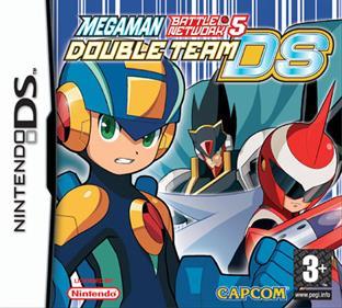 Mega Man Battle Network 5: Double Team DS - Box - Front