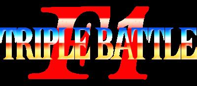F1 Triple Battle - Clear Logo