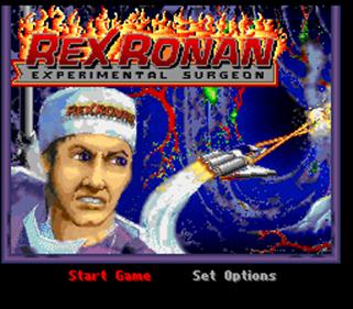 Rex Ronan: Experimental Surgeon - Screenshot - Game Title