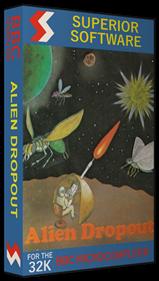 Alien Dropout - Box - 3D