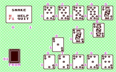 Snake (J & F Publishing) - Screenshot - Gameplay