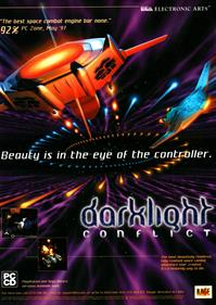 Darklight Conflict - Advertisement Flyer - Front