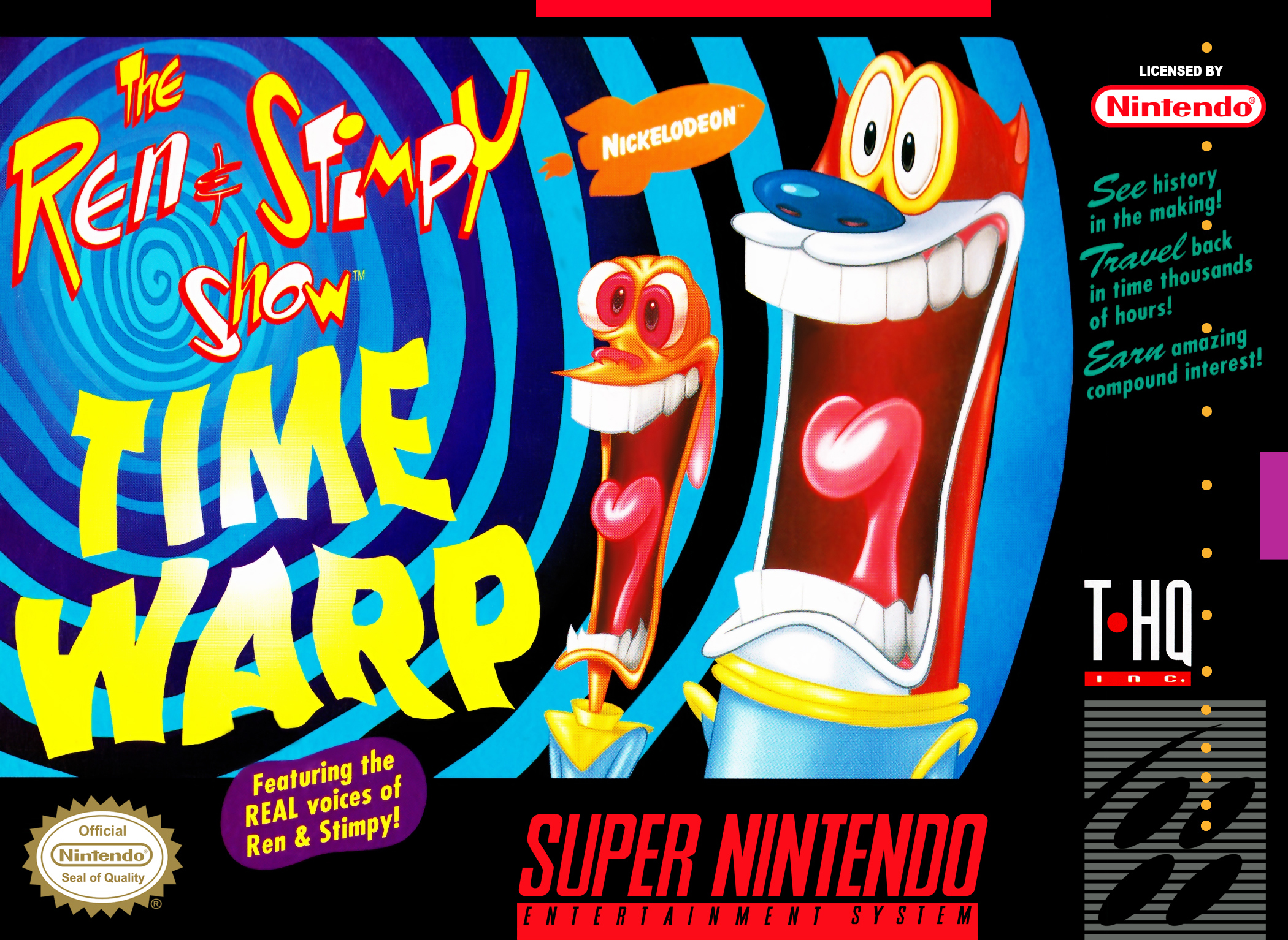 the ren stimpy show time warp details