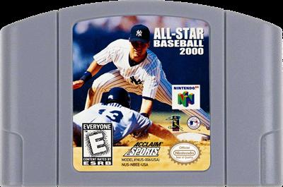 All-Star Baseball 2000 - Cart - Front