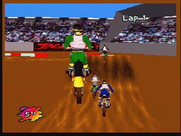 SuperCross 3D - Screenshot - Gameplay