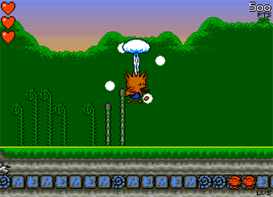 B.C. Kid - Screenshot - Gameplay