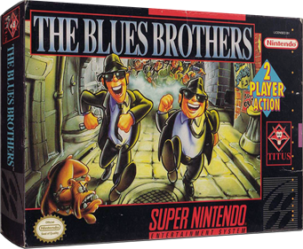 The Blues Brothers - Box - 3D