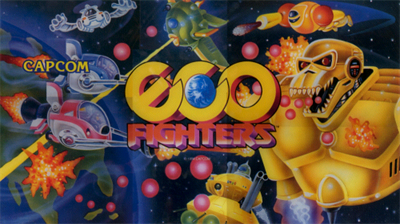 Eco Fighters - Arcade - Marquee