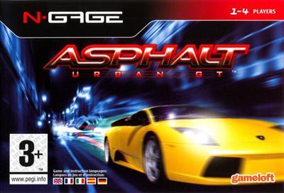 Asphalt: Urban GT - Box - Front