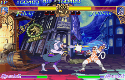 Darkstalkers: The Night Warriors - Screenshot - Gameplay