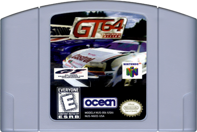 GT 64: Championship Edition - Cart - Front