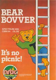 Bear Bovver - Advertisement Flyer - Front