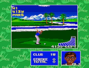 Chi Chi's Pro Challenge Golf - Screenshot - Gameplay
