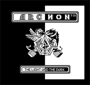 Archon - Screenshot - Game Title