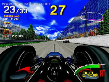 Indy 500 - Screenshot - Gameplay