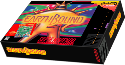 EarthBound - Box - 3D