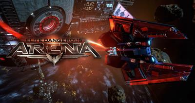 Elite Dangerous Arena - Advertisement Flyer - Back