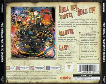 Pro Pinball: Fantastic Journey - Box - Back
