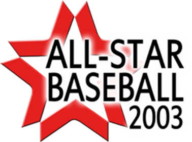 All-Star Baseball 2003 - Clear Logo