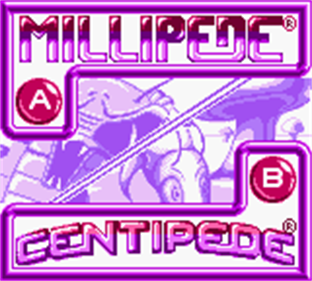 Arcade Classic 2: Centipede/Millipede - Screenshot - Game Title