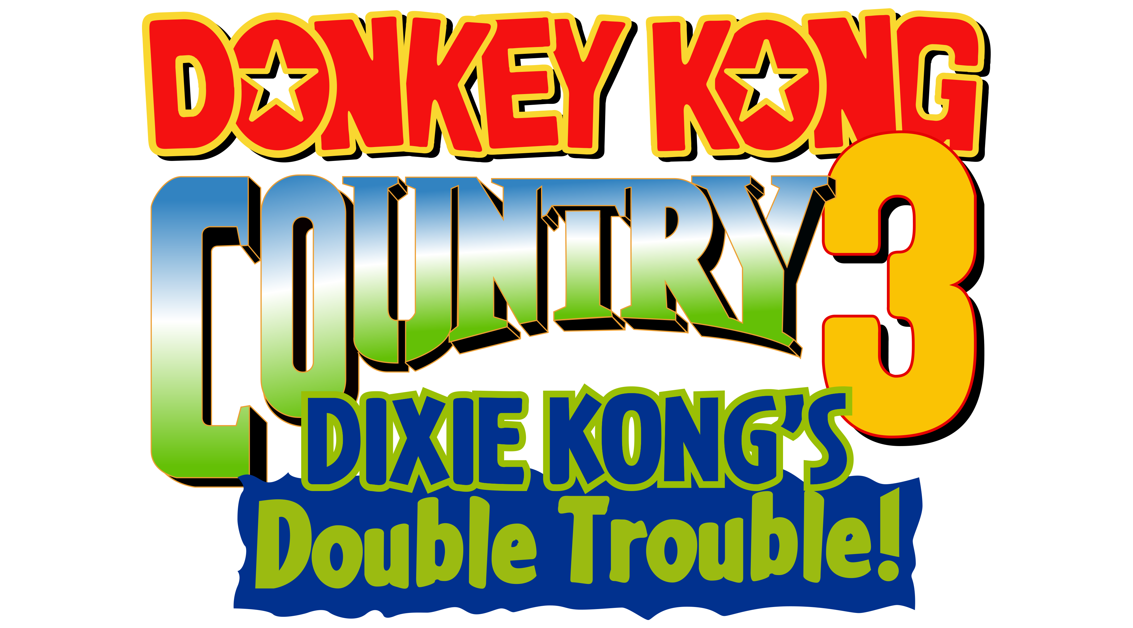 It is a picture of Nifty Donkey Kong Logo