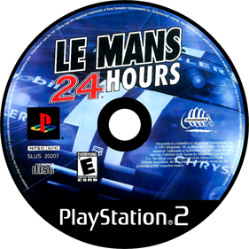 Le Mans 24 Hours - Disc