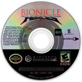 Bionicle Heroes - Disc