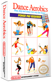 Dance Aerobics - Box - 3D