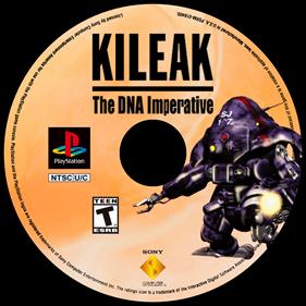 Kileak: The DNA Imperative - Fanart - Disc