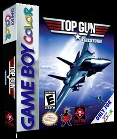Top Gun: Firestorm - Box - 3D