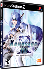 Xenosaga Episode III: Also Sprach Zarathustra - Box - 3D
