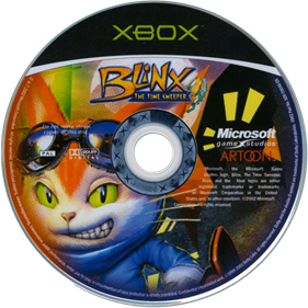Blinx: The Time Sweeper - Disc