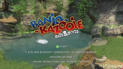 Banjo-Kazooie: Nuts & Bolts - Screenshot - Game Title