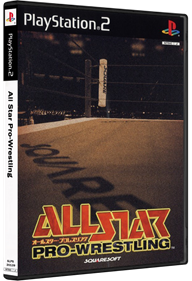 All Star Pro-Wrestling - Box - 3D