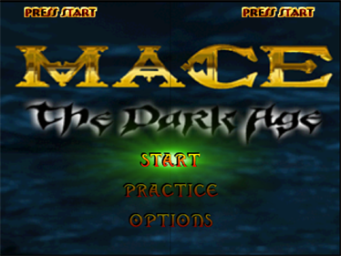 Mace: The Dark Age - Screenshot - Game Title