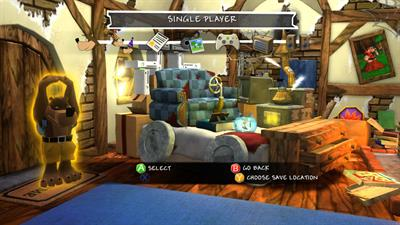 Banjo-Kazooie: Nuts & Bolts - Screenshot - Game Select