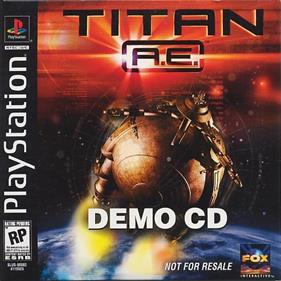 Titan A.E. Demo CD