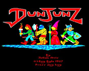 DunJunz - Screenshot - Game Title