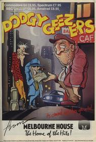 Dodgy Geezers - Advertisement Flyer - Front