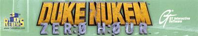 Duke Nukem: Zero Hour - Banner