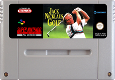 Jack Nicklaus Golf - Fanart - Cart - Front