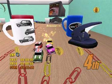 Mini Desktop Racing - Screenshot - Gameplay