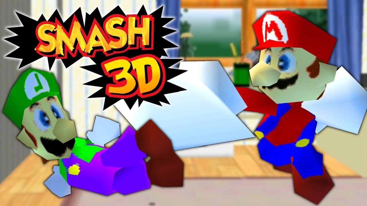 Super Smash Bros  3D Details - LaunchBox Games Database