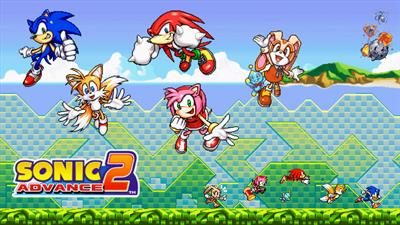Sonic Advance 2 - Fanart - Background
