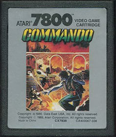 Commando - Cart - Front