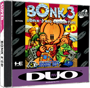 Bonk 3: Bonk's Big Adventure - Box - 3D
