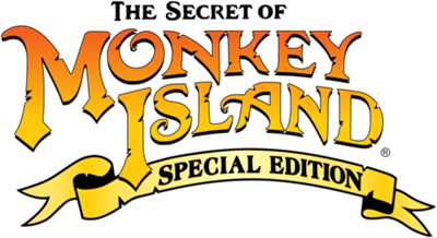 The Secret of Monkey Island: Special Edition - Clear Logo